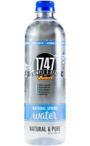 Rutter's 1747 Natural Spring Water