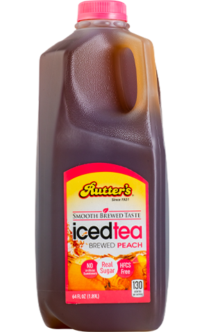 Rutter's Brewed Peach Iced Tea