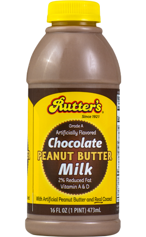 Rutter's Chocolate Peanut Butter Milk