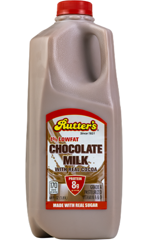 Rutter's Low Fat Chocolate Milk