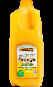 Rutter's Orange Juice