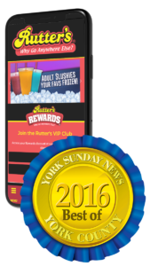 Rutter's Mobile & Best of 2016 Award
