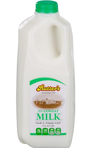 Rutter's Lowfat Milk