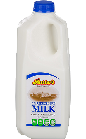 Rutter's Reduced Fat Milk