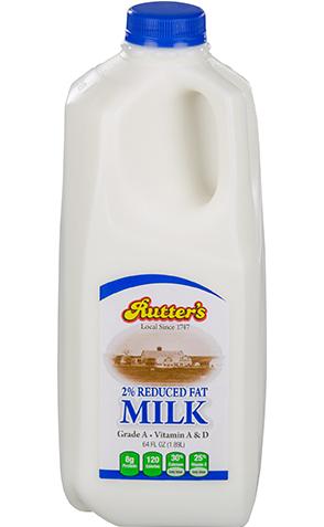 Rutter's Reduced Fat Milk